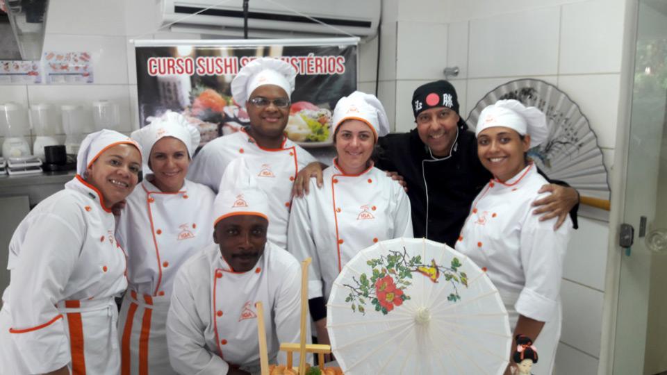 Sushi Sem Mistérios no Instituto Gastronômico das Américas